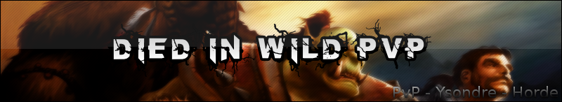 Ysonde - Dield In Wild PvP Index du Forum