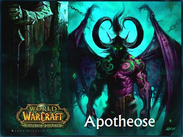 apothéose guilde wow Index du Forum