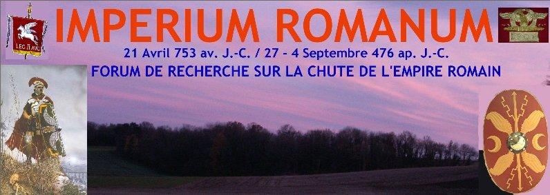 IMPERIUM ROMANUM Forum Index