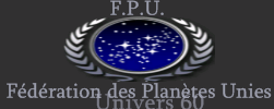 Fédération des Planètes Unies Index du Forum