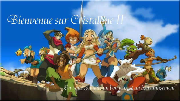 Cristalline-server Index du Forum