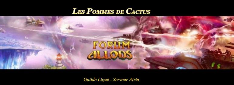 Bienvenus chez les Pommes de Cactus Index du Forum