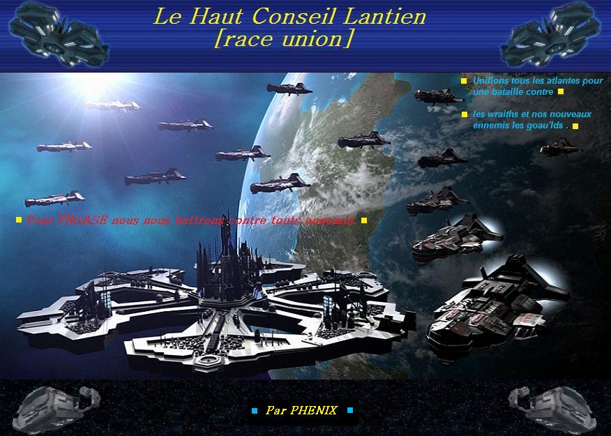 le haut conseil lantien [race union] Forum Index