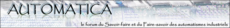 AUTOMATICA Index du Forum