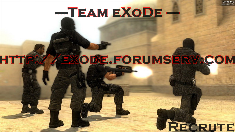 Team ExoDe Index du Forum