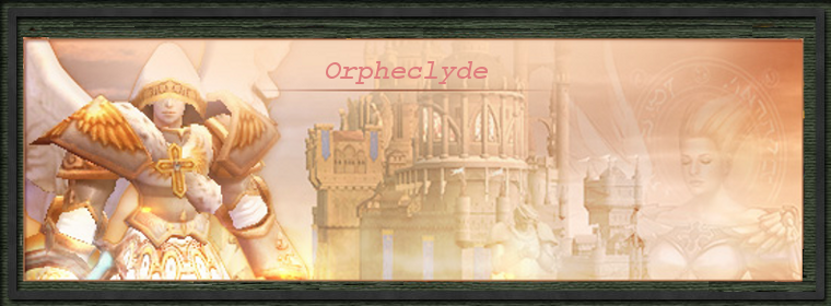 orpheclyde Index du Forum