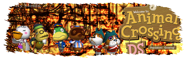 Animal Crossing : Wild World Index du Forum