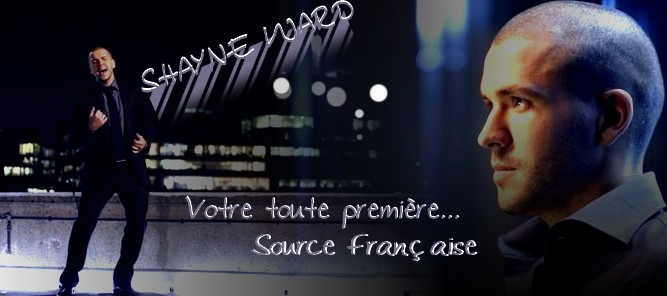 Shayne Ward Online Index du Forum