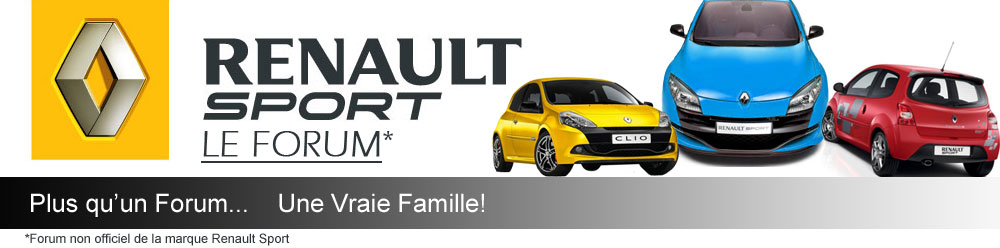 "RENAULT SPORT ""LE FORUM"" Forum Index"