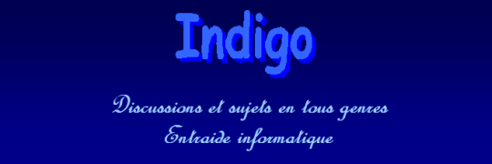 Indigo Forum Index
