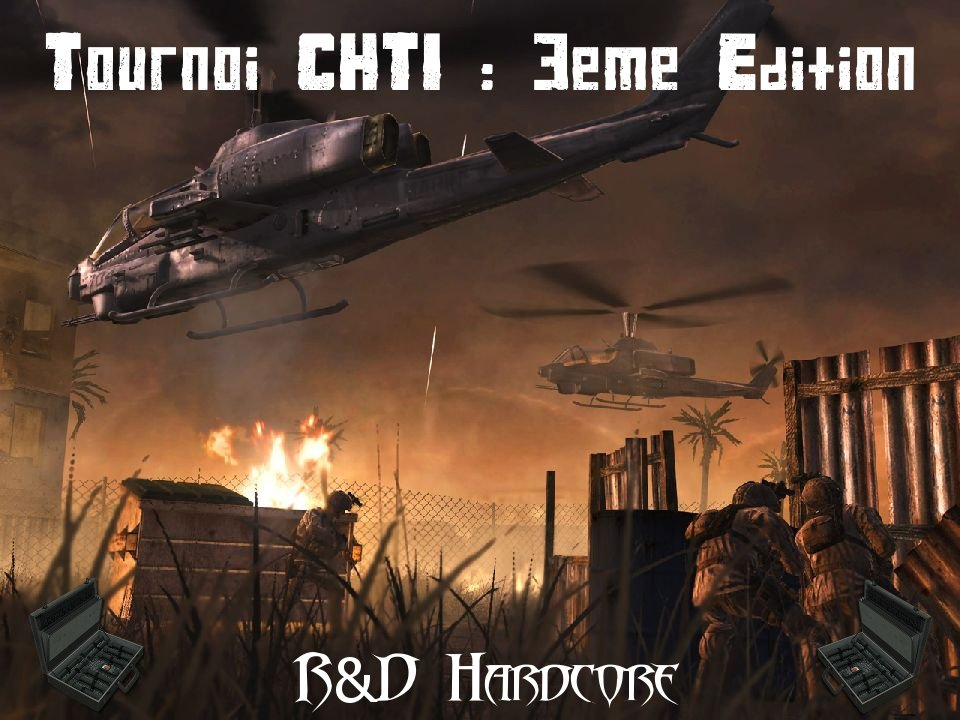 tournoi CHTI 3eme edition... Index du Forum