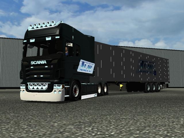 18 wos haulin freaks interieur scania longline for Interieur camion scania