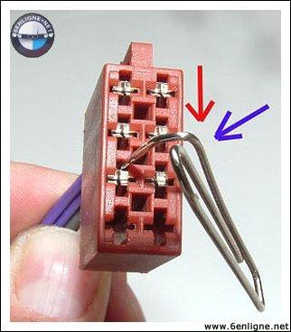 Passion bmw e36 tuto r parer fabriquer faisceau lectrique autoradio - Refaire une prise electrique ...