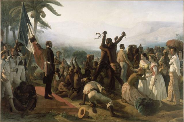 Une petite histoire par jour (La France Pittoresque) - Page 7 Biard_abolition_d...vage_1849-df3d5d