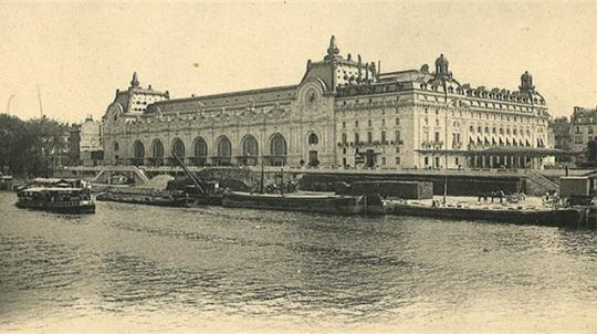 Passions et partage paris autrefois for Quai d orsay metro