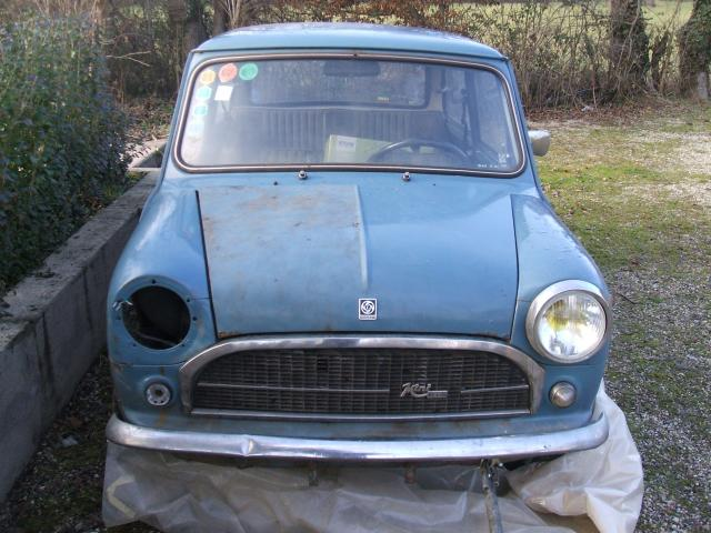 Seventies garage mini innocenti 1974 for Garage mini 77
