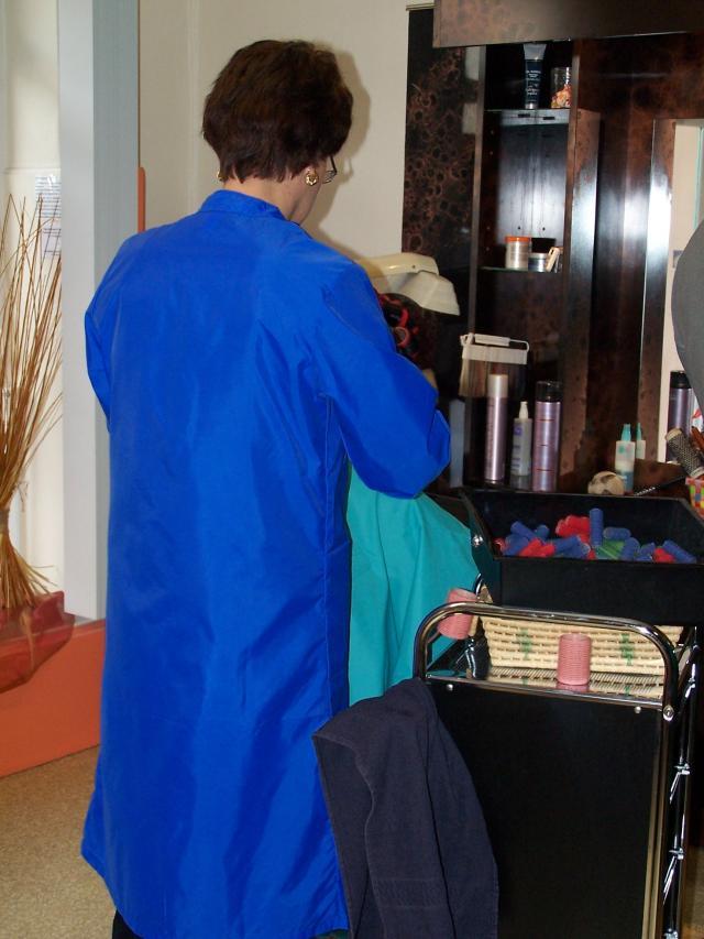 blouse coiffeuse nylon. Black Bedroom Furniture Sets. Home Design Ideas