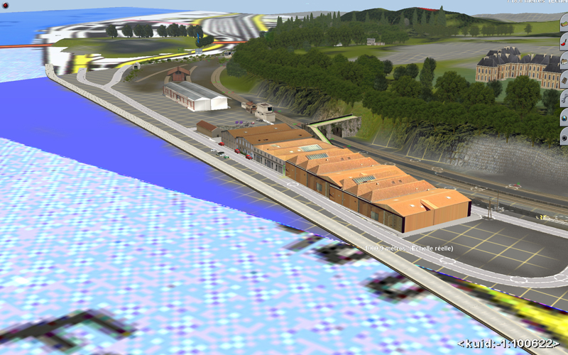 Trainz et les amis du rails debut map bayonne st jean - Train from bayonne to st jean pied de port ...