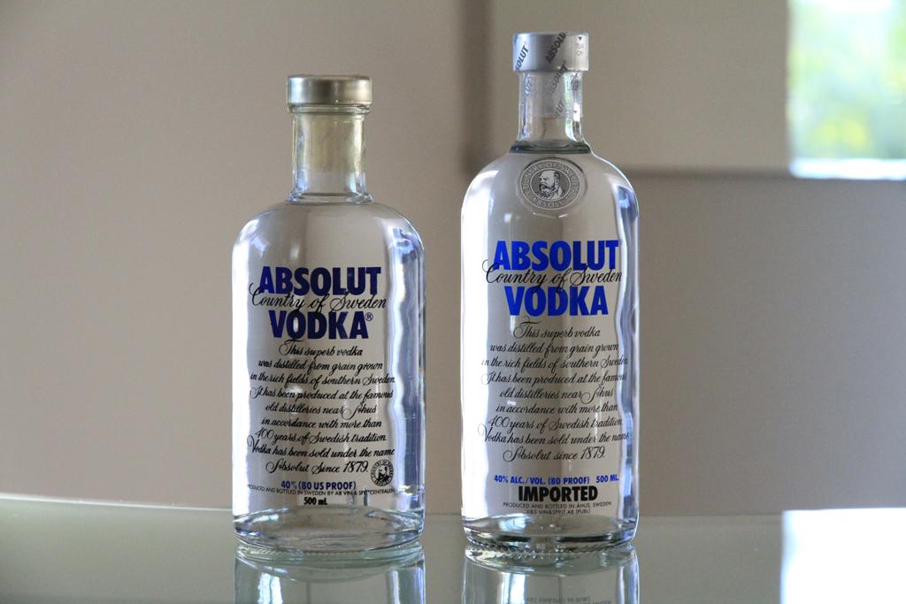 Absolut vodka Forum :: Very old Absolut bottles