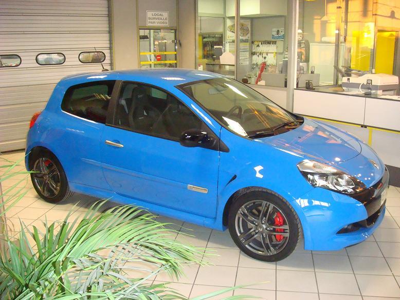 My Clio 3 Rs 2 Bleu Dynamo Clio Rs Concept