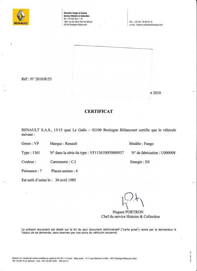 fuego by psyko certificat de conformit. Black Bedroom Furniture Sets. Home Design Ideas