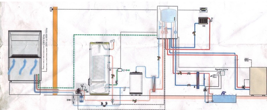 forum plomberie schema pac de dietrich avec piscine. Black Bedroom Furniture Sets. Home Design Ideas