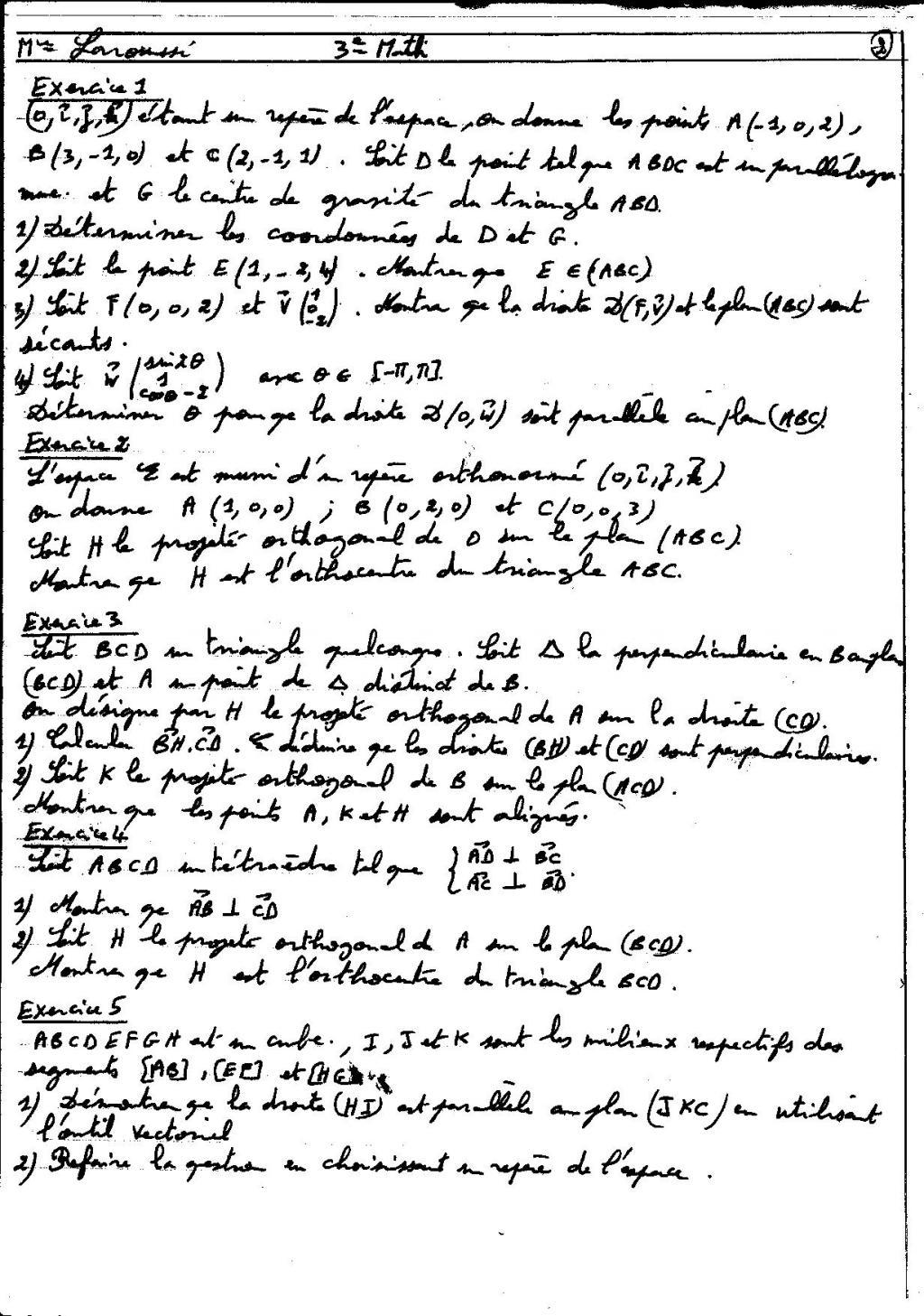 devoir math 7eme
