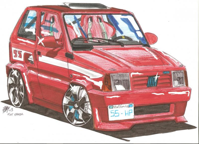 Tunegraph forum beejay gallery - Coloriage fiat panda ...