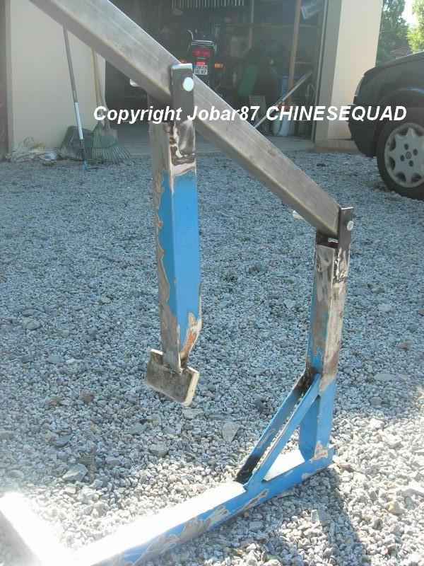 chinese quad tuto fabriquer un d colle pneu. Black Bedroom Furniture Sets. Home Design Ideas