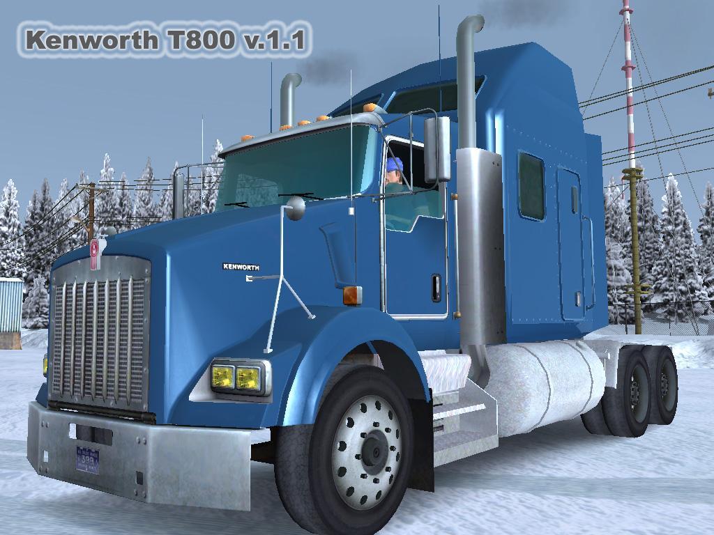 Virtual Truck Europe Kenworth T800 V 1 1