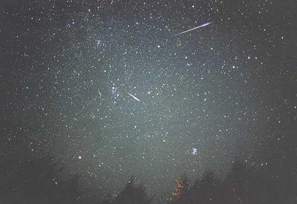 Passions et partage etoile filante et m t orite - Meteore et meteorite ...