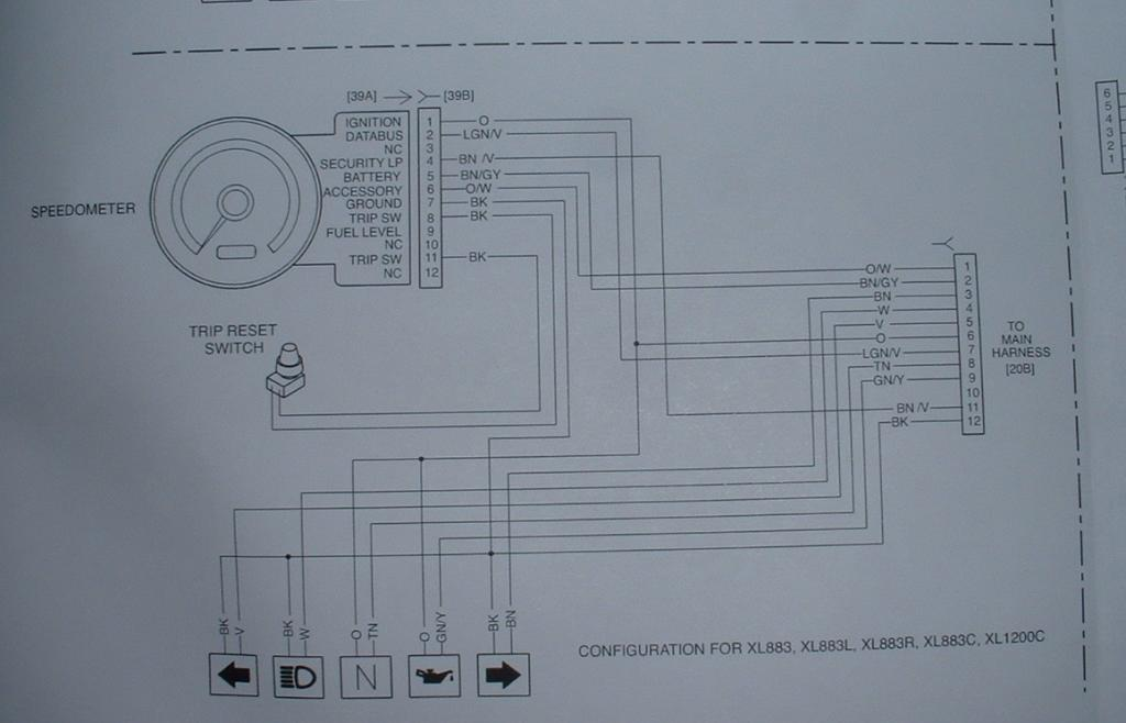 Br Compteur A A on Harley Davidson Ignition Switch