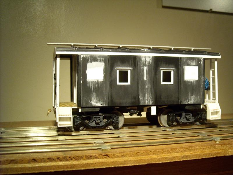 Team Track For All Modelrailroaders A New Caboose For Mrs