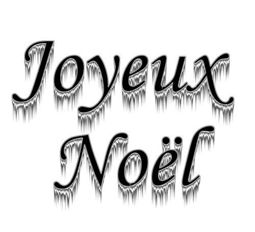 Depiedencap joyeux no l - Joyeux noel noir et blanc ...