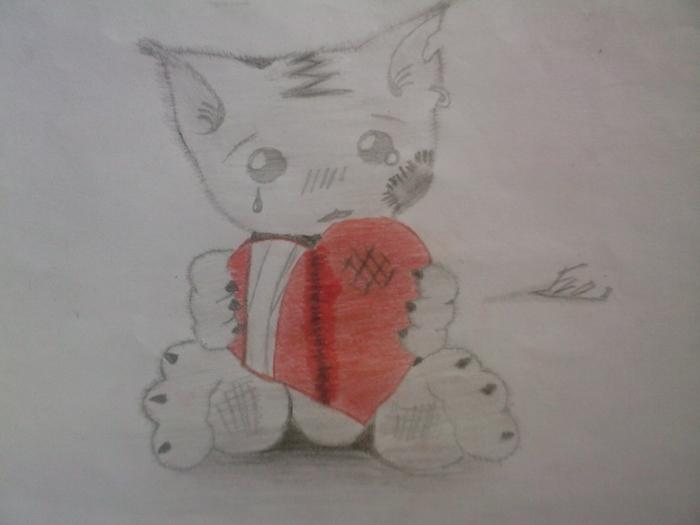 Crash team racing mes dessins x3 - Dessin de coeur brise ...