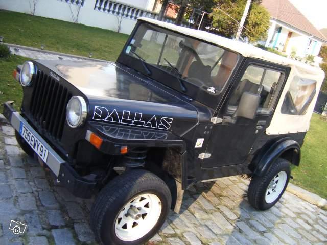 jeep dallas voitures de plages dallas essence de 92 82000 km 4 places 4800. Black Bedroom Furniture Sets. Home Design Ideas