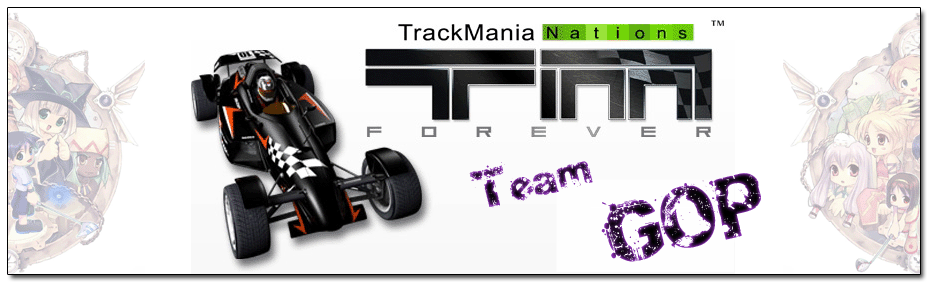 Forum du team gop sur Trackmania Index du Forum