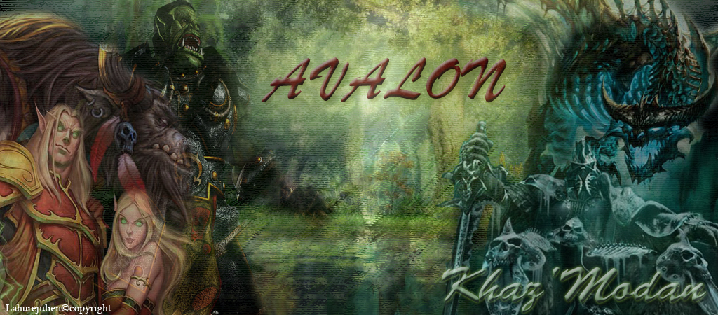 Guilde Avalon Index du Forum