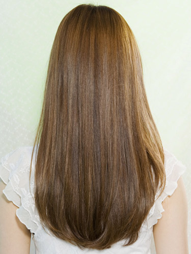 coupe cheveux long arrondie