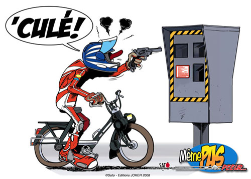 Kawasaki zl eliminator petits dessins rigolos - Dessin motard humoristique ...