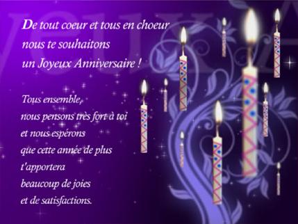 Le Forum De Dany Joyeux Anniversaire Marie