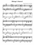 partition musique naruto
