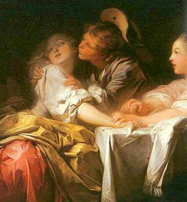 fragonard la rencontre analyse