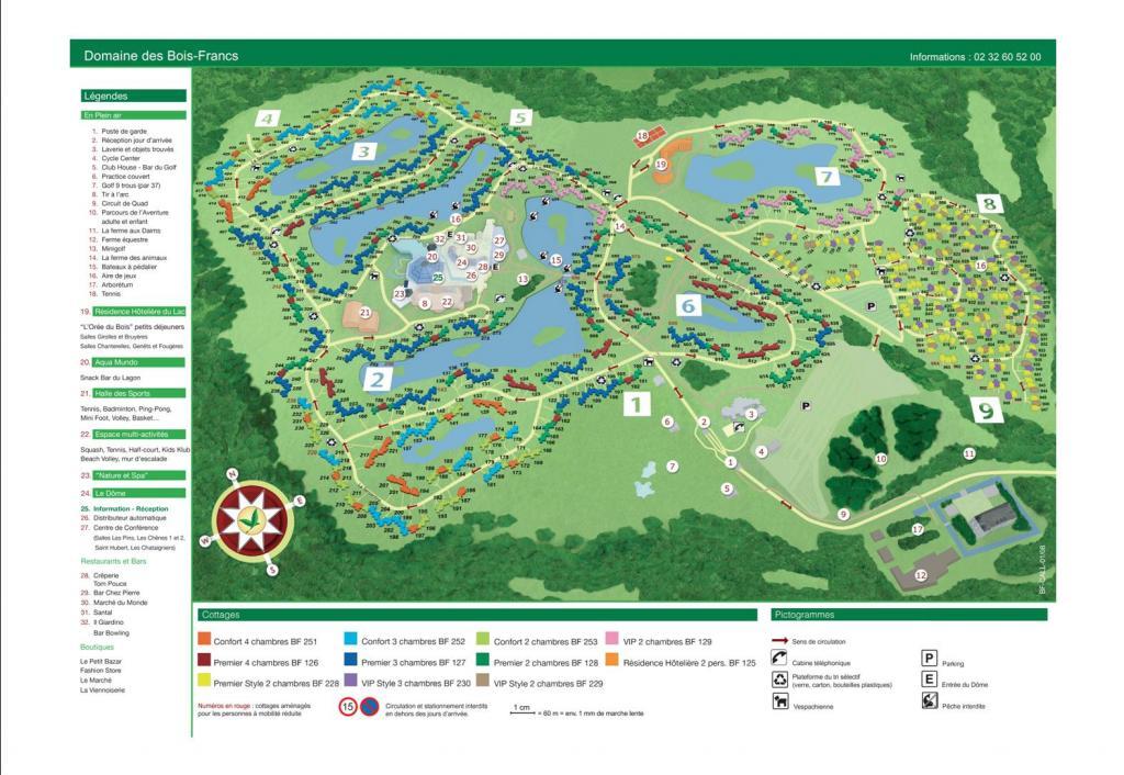 Plan Les Bois Francs u2013 Myqto com # Plan Center Parc Les Bois Franc