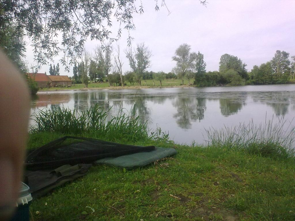 Les étangs pour la pêche à krymou
