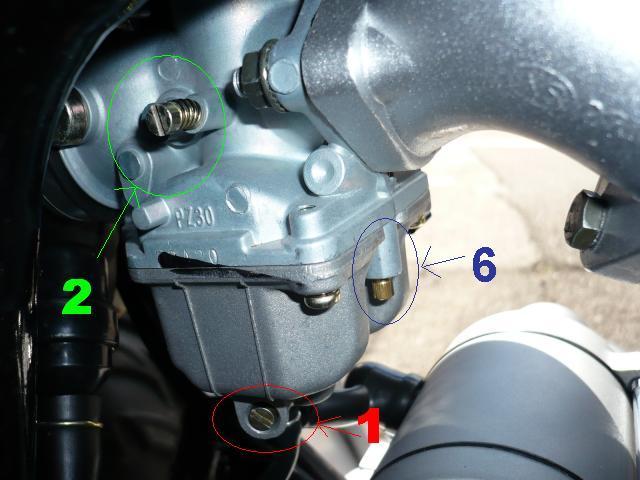 carburateur quad 110