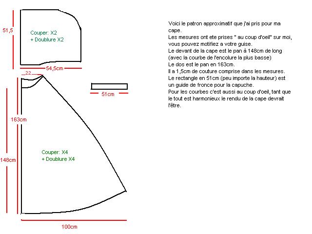 comment coudre une cape avec capuche