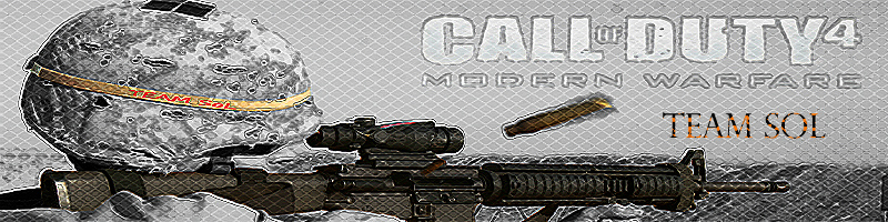 Team [SoL'] CoD 4 Index du Forum