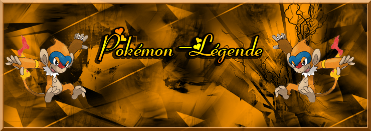Pokémon-Légende Index du Forum