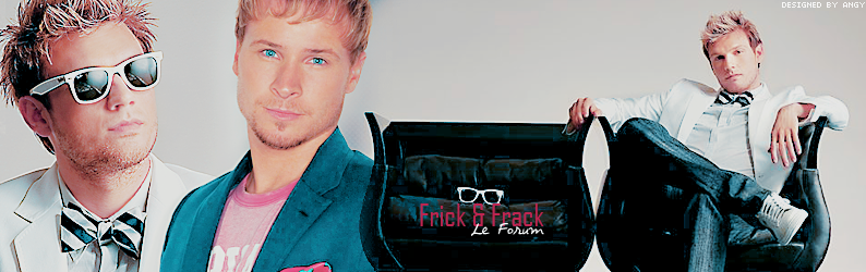 ||  FRICK AND FRACK FORUM  || Univers des Graph'X et des Fanfictions Index du Forum